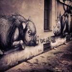 Fresque rue de la Chaufferette Lollepot – Bruxelles