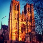 Cathedrale Saint Michel et Sainte Gudule. Bruxelles