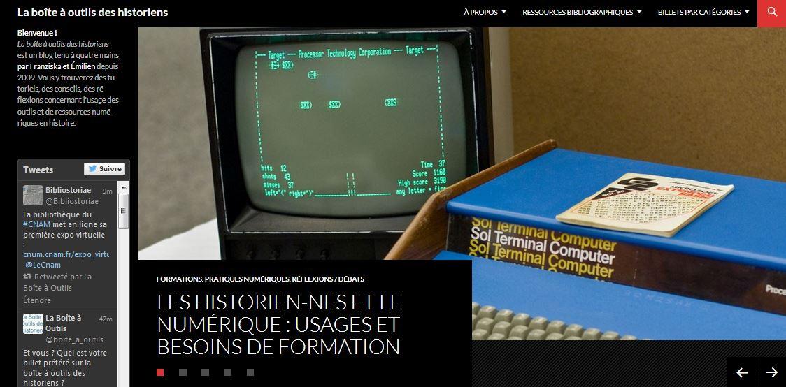 Les historien-nes et le numérique. À lire sur la boite à outils des historiens