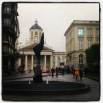 Vers place royale et musée Magritte, Bruxelles