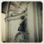 Manneken Pis. Bruxelles