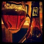"""""""Mea Culpa"""" (bière du patron du Beermania, """"bière aux 10 ingrédients"""" - Chaussée de Wavre, Ixelles - Bruxelles."""